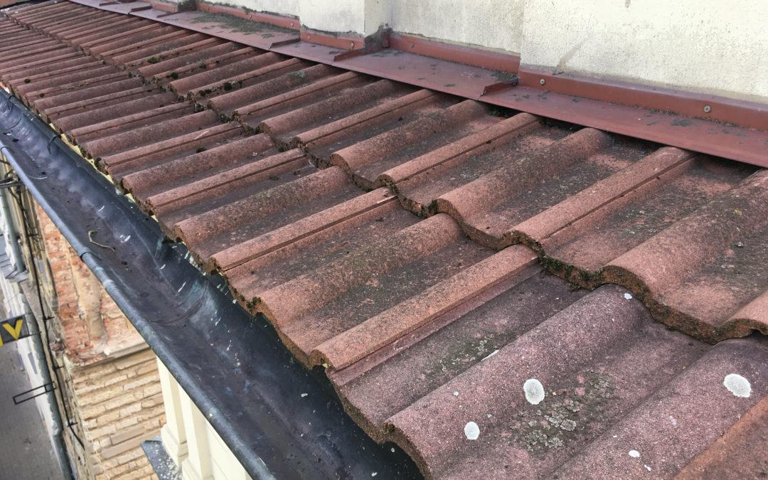 Oprava střechy, přeložení střešní krytiny – DPS Žatec