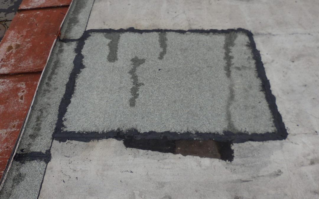 Oprava střechy – ZŠ. Březno