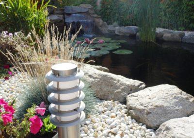 Výstavba zahradního jezírka - Chomutov