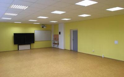 Rekonstrukce interiéru – ZŠ. Březno