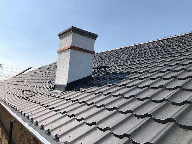 Rekonstrukce střechy – autodílna Březno u Chomutova